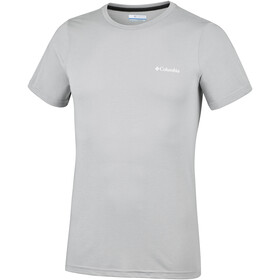 Columbia Nostromo Ridge Short Sleeve Tee Men Columbia Grey